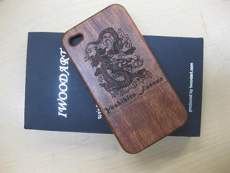 スマートフォンケース スマホケース 木製 名入れ 彫刻加工