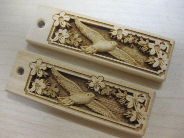 武蔵野彫り 特注品