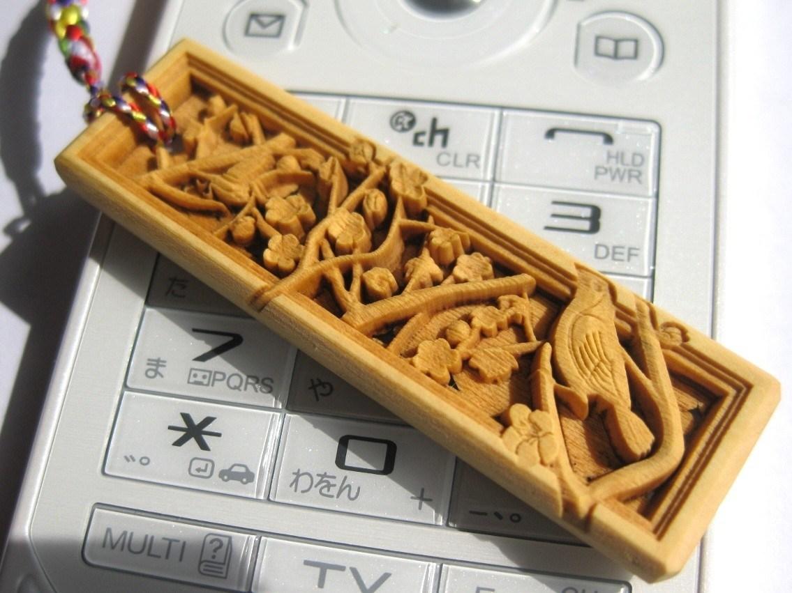 武蔵野彫り 梅