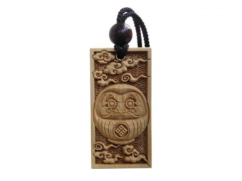 木札 武蔵野彫り だるま daiajima daihakuunsai